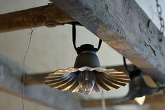 Retro lampada fotografia stock