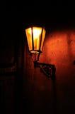 Retro lampada di via Fotografie Stock