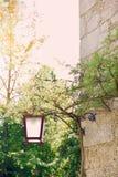 Retro lampgata Royaltyfri Fotografi