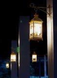 Retro lantaarn Royalty-vrije Stock Afbeelding