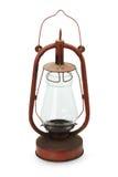 Retro lantern isolated on the white background Stock Photos