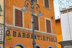 Retro lantern on Piazza del Duomo in Pisa, Italy Royalty Free Stock Photography