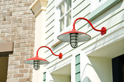 Retro lanterns Stock Image
