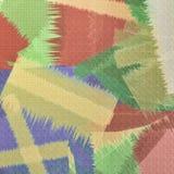 Retro lappbakgrund vektor illustrationer