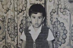 Retro- Latino, Kinderart Stockbild