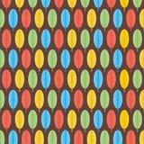 Retro leaf pattern  background design Royalty Free Stock Images