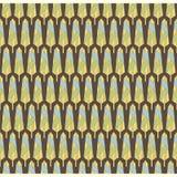 Retro leaf pattern Stock Photography