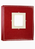 Retro leather photo album Royalty Free Stock Image