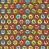 Retro lemon pattern background Stock Images