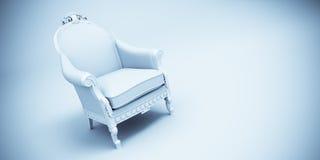 Retro leunstoel Royalty-vrije Stock Afbeelding