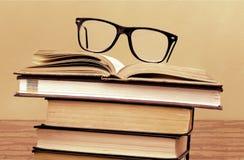 Retro libri immagini stock libere da diritti