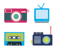 Retro lifestyle Stock Images