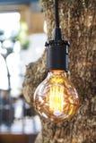 Retro light bulb Royalty Free Stock Photography