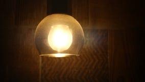 Retro Light Bulb Lighting Series. Ball Shape. stock video