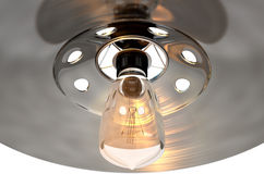 Retro Light Fitting Royalty Free Stock Photography