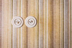 Retro light switches Royalty Free Stock Photography