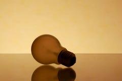Retro Lightbulb. In old photography Stock Photos