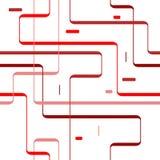 Retro lijnen royalty-vrije illustratie