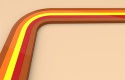 Retro lijnen Vector Illustratie