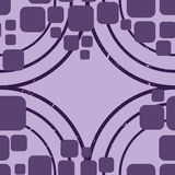 Retro lilas pattern Stock Photos