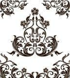 Retro ślimacznicy Obrazy Royalty Free