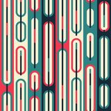 Retro line seamless pattern Stock Images