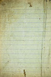 Retro lined paper Stock Images