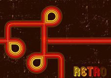 Retro lines Stock Image