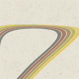 Retro lines abstract background. Royalty Free Stock Photo