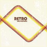 Retro lines background. Retro lines grunge background or flyer template Stock Images
