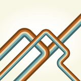 Retro lines background Royalty Free Stock Image