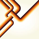 Retro lines background Royalty Free Stock Images