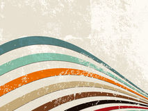 Retro lines - grunge stripe background Royalty Free Stock Images