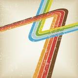 Retro lines vector Stock Photography