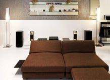 Retro living room royalty free stock image