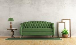 Retro living room Stock Images