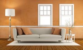 Retro living room Stock Photography