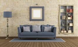 Retro living room Royalty Free Stock Photo