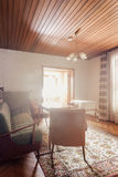 Retro living room Stock Photography