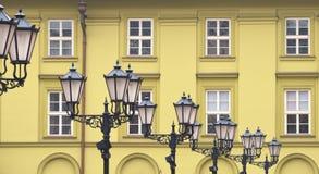 Retro lampy Obraz Stock