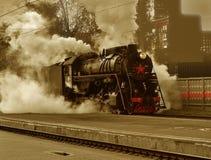 Retro - locomotive Royalty Free Stock Photography