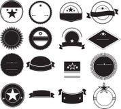 Retro logo backgrounds Stock Image