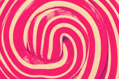 Retro Lollipop Abstract Closeup Royalty Free Stock Photos