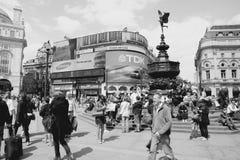 Retro Londen Royalty-vrije Stock Foto