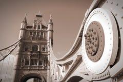 Retro London arkivfoton