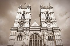 Retro London Royaltyfri Fotografi