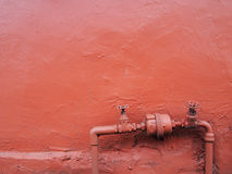 Retro loodgieterswerkklep Stock Foto