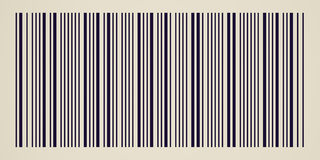 Retro look Barcode Royalty Free Stock Photo