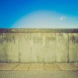 Retro look Berlin Wall Stock Photos