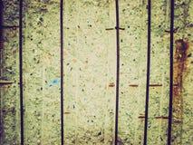 Retro look Berlin Wall Stock Image